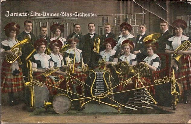 Janietz Damen Orchester 1 tst