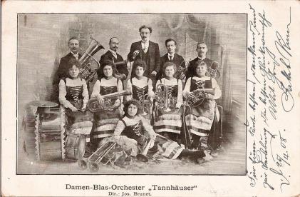 Tannhauser Damen Orchester tst